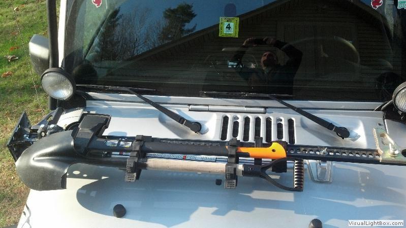 Hi Lift Accessory Bars Shovel Axe