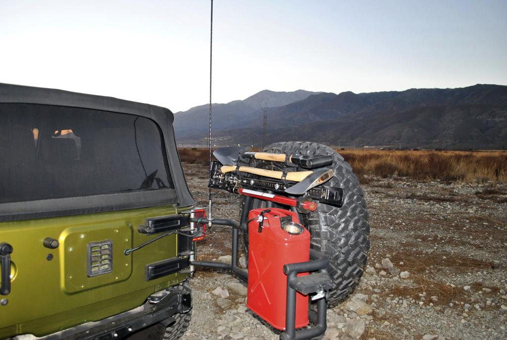 Hi-Lift Jack Mounts - JeepSWAG