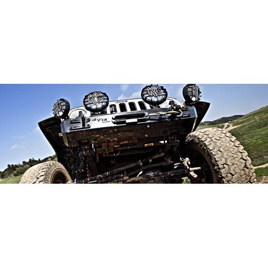 Naked Jeep JK Crawler Extreme Stubby Bumper