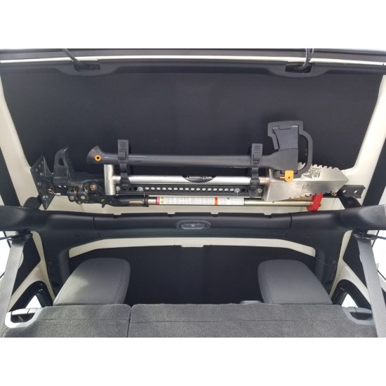 Jeep JK Dominion OffRoad Jack Mount w/ Axe & Shovel Mount Combo Deal (2007-2018 Jeep JK Wrangler)