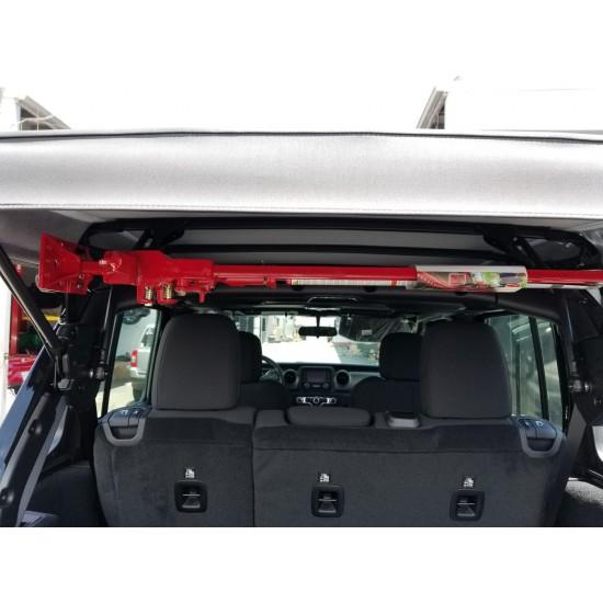 Jeep JL Best (Stealth) 4-Door Hi-Lift Jack Mount Kit (2018+ Jeep JL)