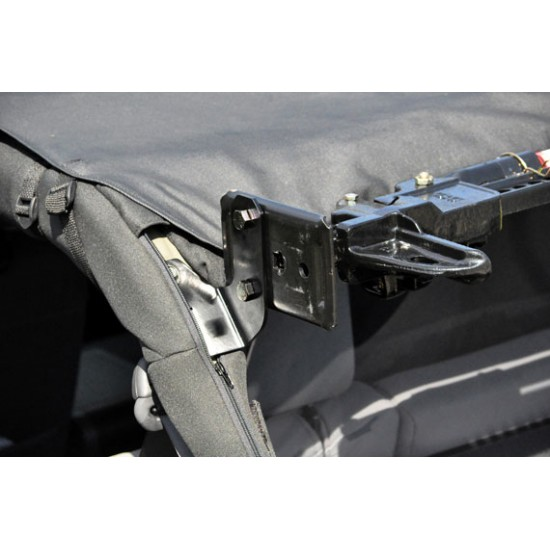 Jeep JK Dominion OffRoad Stealth Hi-Lift Jack Mount Kit (2007 - 2018 Jeep JK Wrangler)