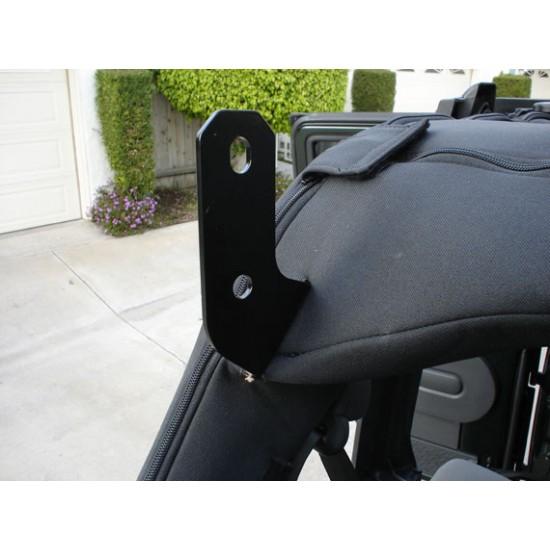Jeep JK Dominion OffRoad Stealth Hi-Lift Jack Mount Kit (2007 - 2018 Jeep JK Wrangler)